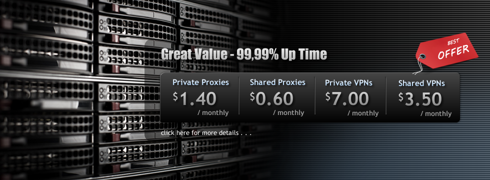 SSL Private Proxy Best Offers