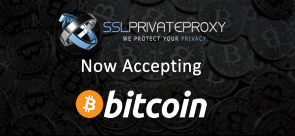 SSLPrivateProxy is now accepting bitcoin for your online anonymity