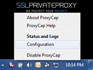 proxycap select configuration