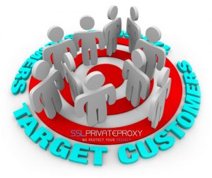 target customers with online presence private proxies