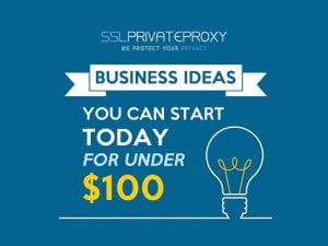 use craigslist proxies to start a business with less then $100