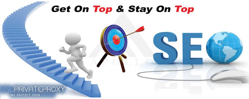 seo get on top stay on top with private proxies