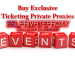 Buy Exclusive TicketMaster Private Proxies to attend the Mega Events of 2017