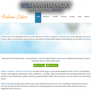 what is followliker | sslprivateproxy.com