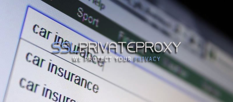 use private proxies for insurance websites