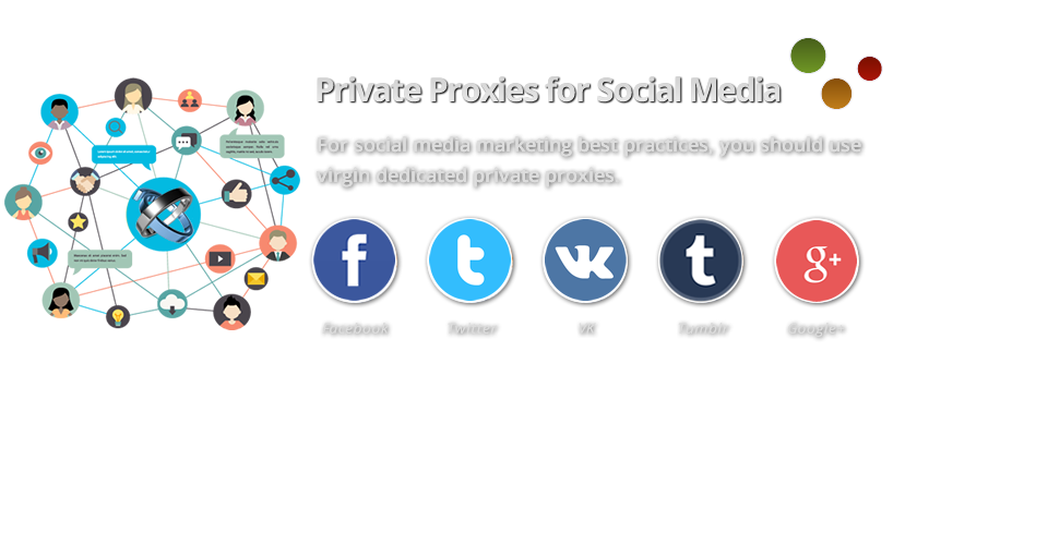 Buy Virgin Social Media Private Proxies