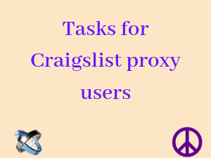 Tasks-of-a-Craigslist-proxy-user